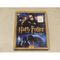 HARRY POTTER AND THE SORCEROR'S STONE TWO DISK SPECIAL EDITION DVD NEW