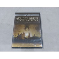 AFRICA'S GREAT CIVILIZATIONS WITH HENRY LOUIS GATES, JR. DVD NEW