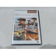 TCM GREATEST CLASSIC FILMS- OUTLAWS AND HEROES: WESTERNS DVD NEW W/OUT SLIPCOVER