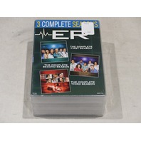 ER: THE COMPLETE FIRST, SECOND AND THIRD SEASONS DVD SETS NEW