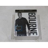BOURNE THE ULTIMATE COLLECTION 4K ULTRA HD + BLU-RAY + DIGITAL HD NEW