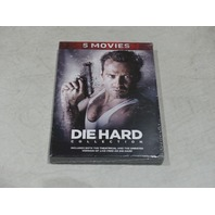 5 MOVIES DIE HARD COLLECTION DVD NEW
