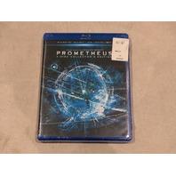 PROMETHEUS 4-DISC COLLECTOR'S EDITION BLU-RAY 3D+BLU-RAY+DVD+DIGITAL COPY NEW
