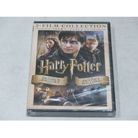 HARRY POTTER AND THE DEATHLY HALLOWS PARTS 1 AND 2 DVD NEW W/OUT SLIPCOVER