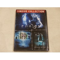 3 MOVIE COLLECTION THE RING SERIES NEW