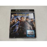 THE GREAT WALL 4K ULTRA HD + BLU-RAY + DIGITAL HD NEW