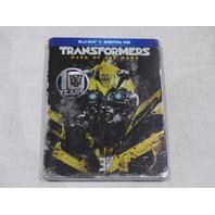 TRANSFORMERS DARK OF THE MOON STEEL BOOK PACKAGING BLU-RAY + DIGITAL HD NEW