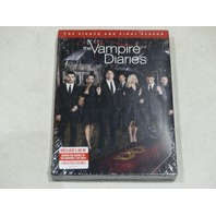 THE VAMPIRE DIARIES: THE EIGHTH AND FINAL SEASON DVD SET NEW