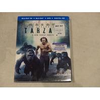 THE LEGEND OF TARZAN BLU-RAY 3D+BLU-RAY+DVD+DIGITAL HD NEW