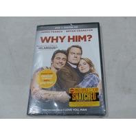 WHY HIM? DVD+DIGITAL HD NEW