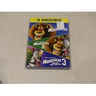 3 MOVIES MADAGASCAR 1-3 DVD NEW