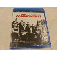 THE COMMITMENTS 25TH ANNIVERSARY EDITION BLU-RAY NEW