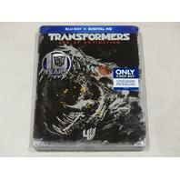 TRANSFORMERS AGE OF EXTINCTION STEEL BOOK PACKAGING BLU-RAY + DIGITAL HD NEW