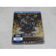 GODS OF EGYPT BLU-RAY 3D + BLU-RAY + DVD + DIGITAL HD NEW