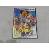 STEP UP: REVOLUTION & STEP UP ALL IN DOUBLE FEATURE DVD NEW / SEALED