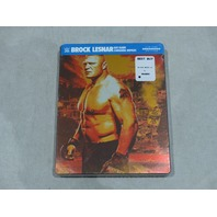 BROCK LESNAR: EAT.SLEEP.CONQUER.REPEAT. LIMITED STEELBOOK EDITION BLU-RAY NEW