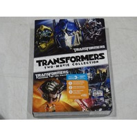 TRANSFORMERS TWO-MOVIE COLLECTION DVD NEW