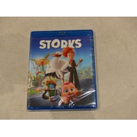 STORKS BLU-RAY+DVD+DIGITAL HD NEW WITHOUT SLIPCOVER