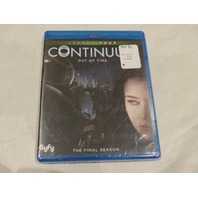 CONTINUUM: SEASON FOUR THE FINAL SEASON BLU-RAY NEW W/OUT SLIPCOVER