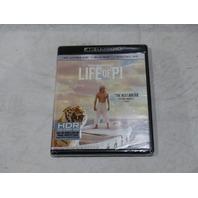 LIFE OF PI 4K ULTRA HD + BLU-RAY + DIGITAL HD NEW / SEALED