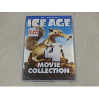 ICE AGE 4-MOVIE COLLECTION DVD+DIGITAL NEW / SEALED