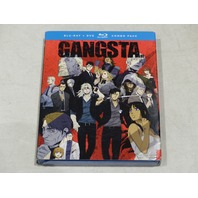 GANGSTA. BLU-RAY+DVD COMBO PACK NEW W/ SLIPCOVER