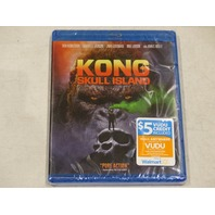 KONG: SKULL ISLAND BLU-RAY NEW W/OUT SLIPCOVER