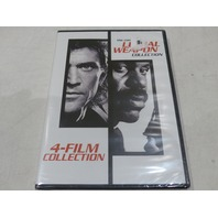THE COMPLETE LETHAL WEAPON COLLECTION DVD NEW