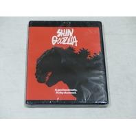 SHIN GODZILLA BLU-RAY+DVD+DIGITAL HD ULTRAVIOLET NEW W/OUT SLIPCOVER