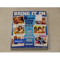 BRING IT ON 6 MOVIE CHEER PACK DVD NEW W/ SLIPCOVER