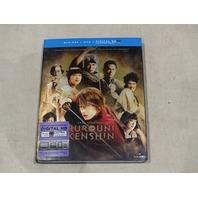 RUROUNI KENSHIN PART I: ORIGINS BLU-RAY+DVD+DIGITAL HD NEW