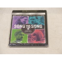 SONG TO SONG 4K ULTRA HD+BLU-RAY NEW
