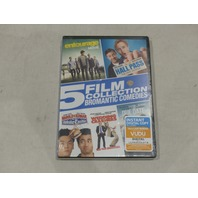 5 FILM COLLECTION: BROMANTIC COMEDIES DVD NEW / SEALED