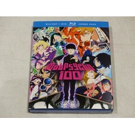 MOB PSYCHO 100: EPISODES 1-12 BLU-RAY+DVD COMBO PACK NEW W/ SLIPCOVER