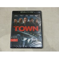 THE TOWN 4K ULTRA HD BLU-RAY NEW WITHOUT SLIPCOVER