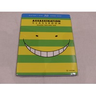 ASSASSINATION CLASSROOM: SEASON TWO, PART ONE BLU-RAY+DVD COMBO PACK NEW