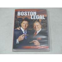 BOSTON LEGAL: SEASON FIVE DVD SET NEW