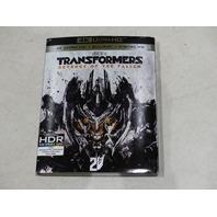 TRANSFORMERS REVENGE OF THE FALLEN 4K ULTRA HD + BLU-RAY + DIGITAL HD NEW
