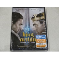 KING ARTHUR: LEGEND OF THE SWORD DVD NEW