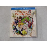 THE SEVEN DEADLY SINS SEASON ONE PART TWO BLU-RAY + DVD COMBO PACK NEW