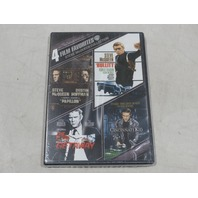 4 FILM FAVORITES: STEVE MCQUEEN COLLECTION DVD SET NEW / SEALED