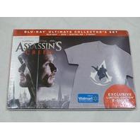 ASSASSIN'S CSREED BLU-RAY ULTIMATE COLLECTOR'S SET BLU-RAY+DVD+DIGITAL HD+SHIRT