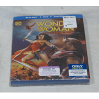 WONDER WOMAN BLU-RAY+DVD+DIGITAL HD NEW WITH SLIPCOVER