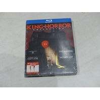KING OF HORROR COLLECTION BLU-RAY DISC NEW