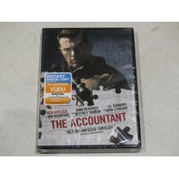 THE ACCOUNTANT DVD NEW