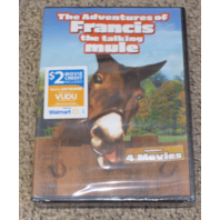 THE ADVENTURES OF FRANCIS THE TALKING MULE DVD NEW