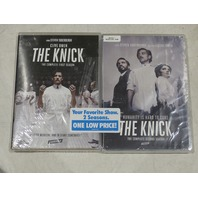 THE KNICK: THE FIRST AND SECOND SEASONS DVD SETS NEW
