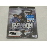 DAWN OF THE PLANET OF THE APES 4K ULTRA HD+BLU-RAY+DIGITAL HD NEW