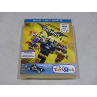 THE LEGO BATMAN MOVIE BLU-RAY + DVD + DIGITAL HD NEW