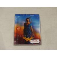 WONDER WOMAN EXCLUSIVE BOOK PACKAGING BLU-RAY + DVD + DIGITAL NEW
